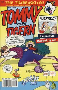 Cover Thumbnail for Tommy og Tigern (Bladkompaniet / Schibsted, 1989 series) #6/2001