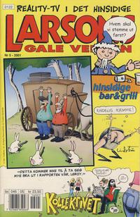 Cover Thumbnail for Larsons gale verden (Bladkompaniet / Schibsted, 1992 series) #5/2001