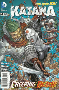 Cover Thumbnail for Katana (DC, 2013 series) #4