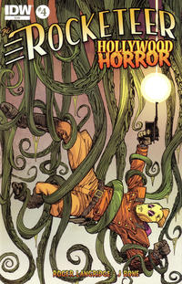 Cover Thumbnail for The Rocketeer: Hollywood Horror (IDW, 2013 series) #4
