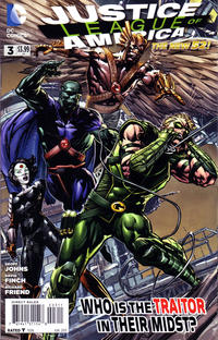 Cover Thumbnail for Justice League of America (DC, 2013 series) #3 [Direct Sales]