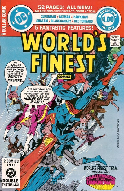 Cover for World's Finest Comics (DC, 1941 series) #267 [Direct]