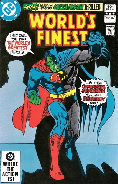Cover for World's Finest Comics (DC, 1941 series) #283 [Direct]