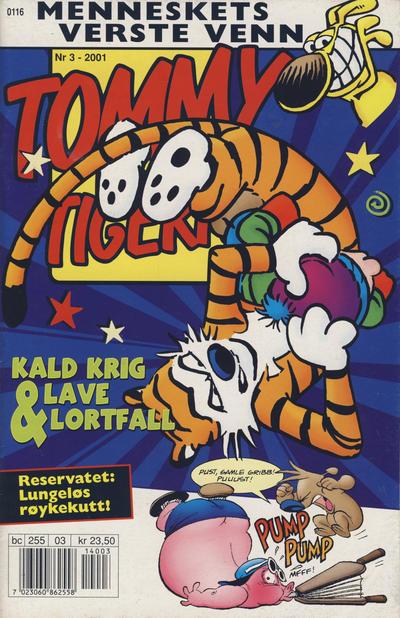 Cover for Tommy og Tigern (Bladkompaniet / Schibsted, 1989 series) #3/2001