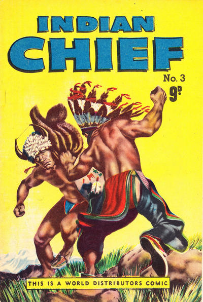 Cover for Indian Chief (World Distributors, 1953 series) #3