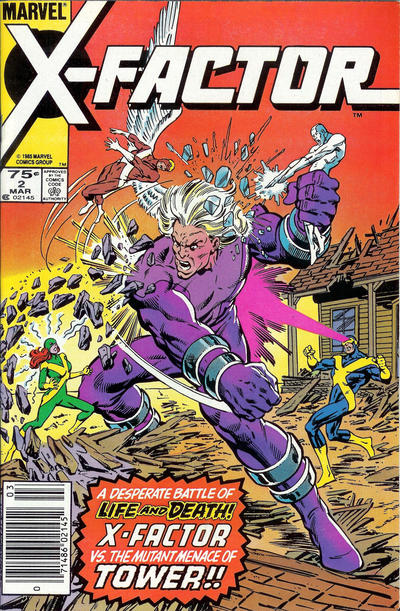 Cover for X-Factor (Marvel, 1986 series) #2 [Direct Edition]