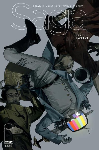 Cover for Saga (Image, 2012 series) #12