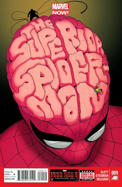 Cover for Superior Spider-Man (Marvel, 2013 series) #9