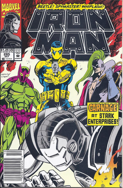 Cover for Iron Man (Marvel, 1968 series) #285