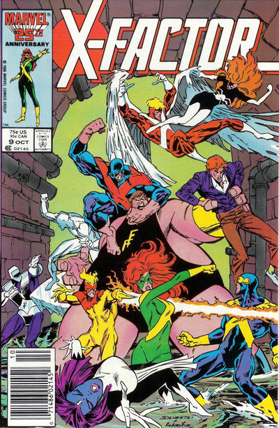 Cover for X-Factor (Marvel, 1986 series) #9 [Direct Edition]