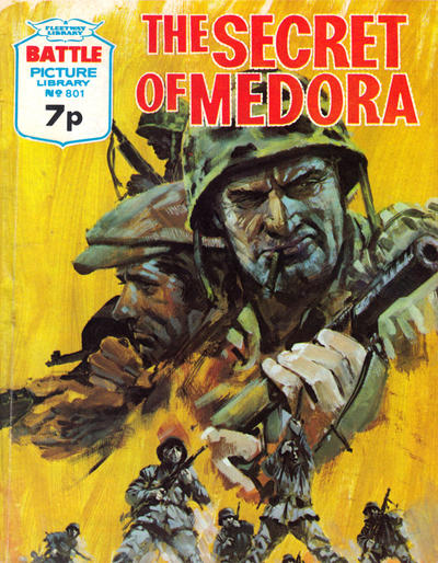 Cover for Battle Picture Library (IPC, 1961 series) #801