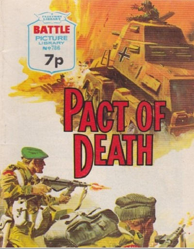 Cover for Battle Picture Library (IPC, 1961 series) #786