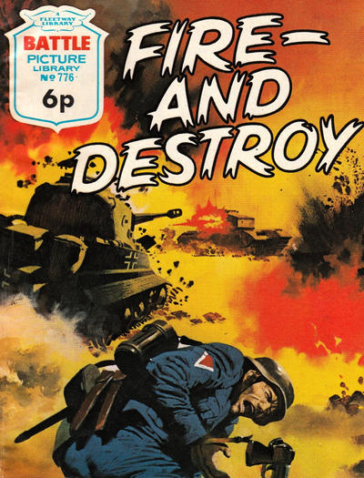Cover for Battle Picture Library (IPC, 1961 series) #776