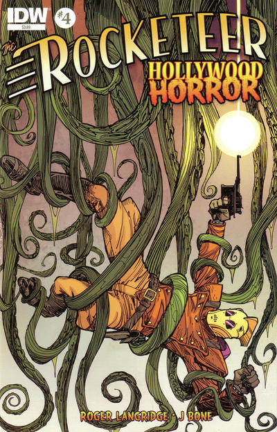 Cover for The Rocketeer: Hollywood Horror (IDW, 2013 series) #4 [RI (Retailer Incentive)]