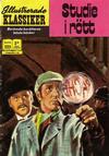 Cover for Illustrerade klassiker (Williams Förlags AB, 1965 series) #223 - Studie i rött