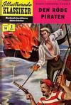 Cover for Illustrerade klassiker (Illustrerade klassiker, 1956 series) #14 [HBN 16] (1:a upplagan) - Den röde piraten