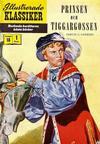 Cover for Illustrerade klassiker (Illustrerade klassiker, 1956 series) #18 [HBN 32] (1:a upplagan) - Prinsen och tiggargossen