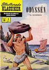 Cover for Illustrerade klassiker (Illustrerade klassiker, 1956 series) #25 [HBN 32] (1:a upplagan) - Odyssén