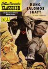 Cover for Illustrerade klassiker (Illustrerade klassiker, 1956 series) #26 [HBN 32] (1:a upplagan) - Kung Salomos skatt