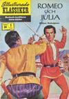 Cover for Illustrerade klassiker (Illustrerade klassiker, 1956 series) #34 - Romeo och Julia