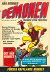 Cover for Demonen (Centerförlaget, 1966 series) #1/1966