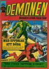 Cover for Demonen (Centerförlaget, 1966 series) #11/1969