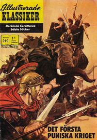 Cover Thumbnail for Illustrerade klassiker (Williams Förlags AB, 1965 series) #219 - Det första puniska kriget