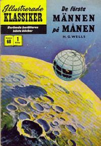 Cover Thumbnail for Illustrerade klassiker (Illustrerade klassiker, 1956 series) #68 - De första männen på månen