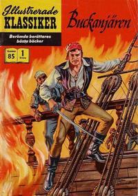 Cover Thumbnail for Illustrerade klassiker (Illustrerade klassiker, 1956 series) #85 - Buckanjären
