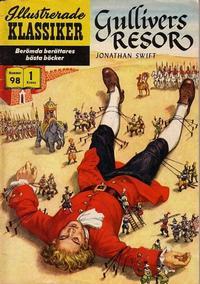 Cover Thumbnail for Illustrerade klassiker (Illustrerade klassiker, 1956 series) #98 - Gullivers resor