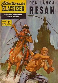 Cover Thumbnail for Illustrerade klassiker (Illustrerade klassiker, 1956 series) #175 - Den långa resan