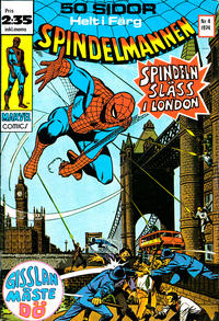 Cover Thumbnail for Spindelmannen (Red Clown, 1974 series) #4/1974