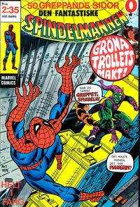 Cover Thumbnail for Spindelmannen (Red Clown, 1974 series) #1/1975
