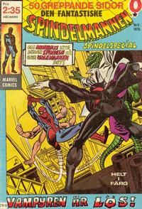Cover Thumbnail for Spindelmannen (Red Clown, 1974 series) #5/1975