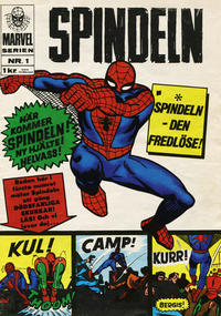 Cover Thumbnail for Marvelserien (Williams Förlags AB, 1967 series) #1