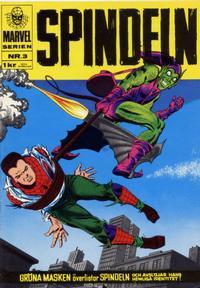 Cover Thumbnail for Marvelserien (Williams Förlags AB, 1967 series) #3