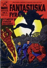 Cover Thumbnail for Marvelserien (Williams Förlags AB, 1967 series) #4