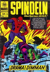 Cover Thumbnail for Marvelserien (Williams Förlags AB, 1967 series) #5