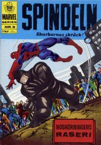Cover Thumbnail for Marvelserien (Williams Förlags AB, 1967 series) #9