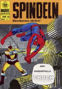 Cover Thumbnail for Marvelserien (Williams Förlags AB, 1967 series) #12