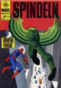 Cover Thumbnail for Marvelserien (Williams Förlags AB, 1967 series) #14