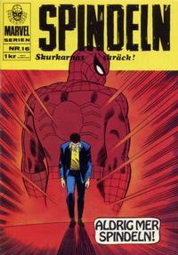 Cover Thumbnail for Marvelserien (Williams Förlags AB, 1967 series) #16