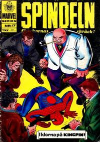 Cover Thumbnail for Marvelserien (Williams Förlags AB, 1967 series) #17