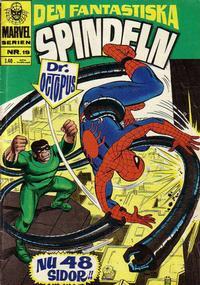 Cover Thumbnail for Marvelserien (Williams Förlags AB, 1967 series) #19