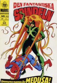 Cover Thumbnail for Marvelserien (Williams Förlags AB, 1967 series) #23