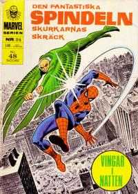 Cover Thumbnail for Marvelserien (Williams Förlags AB, 1967 series) #24