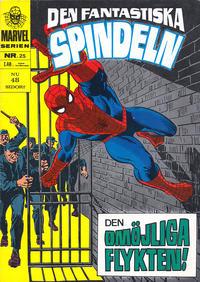 Cover Thumbnail for Marvelserien (Williams Förlags AB, 1967 series) #25