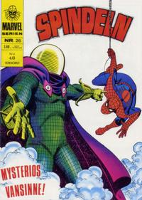 Cover Thumbnail for Marvelserien (Williams Förlags AB, 1967 series) #26