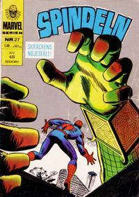 Cover for Marvelserien (Williams Förlags AB, 1967 series) #27