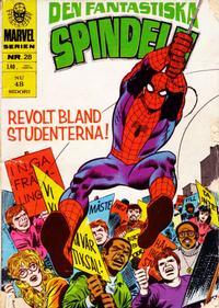 Cover Thumbnail for Marvelserien (Williams Förlags AB, 1967 series) #28